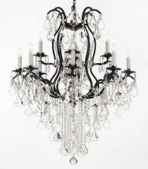 Iron Chandelier With Crystals Chandelier Chandeliers Crystal Chandelier Crystal Chandeliers