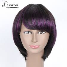 from pixie cut to bob with extensions joedir human hair wigs brazilian remy straight hair pixie cut shot