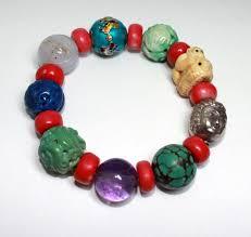 antique beaded bracelet images Asian antique beads bracelet jpeg