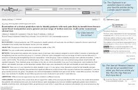 asking a clinical question and searching for research evidence