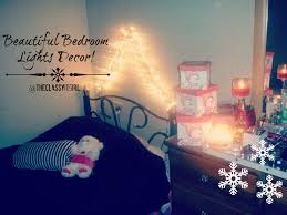 christmas diy decor beautiful bedroom lights youtube
