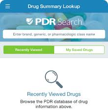 Physician S Desk Reference Future Of Drug Information Via A Mobile App An Interview With Dr