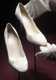 wedding shoes qatar kate middleton s wedding dress a look back at iconic