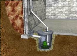 prevent basement sump water flooding with a battery backup sump