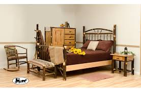 amish u0026 adirondack real wood bedroom furniture new york