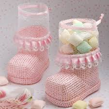 mesh gift bags 6 to 36 baby bootie luxury baby showers party favours mesh gift