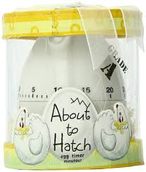 baby shower return gifts ideas kate aspen about to hatch kitchen egg timer in