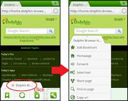 dolphin apk browser dolphin browser mini preview2 for android faster than