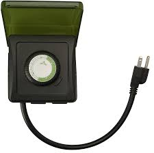 how to set an outdoor light timer woods 50012wd outdoor 24 hour heavy duty mechanical plug in timer 2