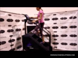 Rotating Stair Machine by Stairmaster 7000pt Stepmill Used Fitness Equipment Youtube