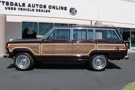jeep grand wagoneer 2017 1989 jeep grand wagoneer for sale 2030244 hemmings motor news