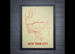 Subway Maps New York City by Subway Map Prints My Blog