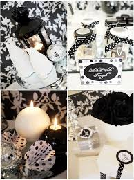 Black And White Christmas Decorations For Tables by A Glitter And Snow New Year U0027s Eve Party Party Ideas Party