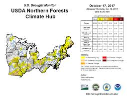 drought in the northern forests usda climate hubs the northern forests of the midwest and northeast regions are home to a diversity of ecosystems and tree species anticipated climate change effects