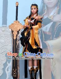 Oriental Halloween Costumes Asian Chinese Qing Empress Halloween Costume Cosplay Costumes