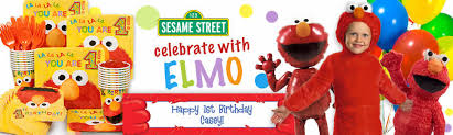 elmo birthday party elmo birthday party supplies decorations and ideas