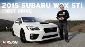 sti subaru white 2015 subaru wrx sti driven and reviewed driving sports tv
