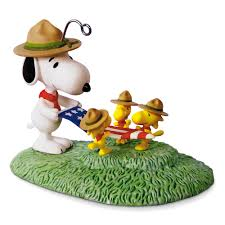 snoopy flag folding ceremony 2017 hallmark keepsake ornament
