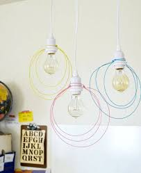 Wire Chandelier Diy 50 Coolest Diy Pendant Lights