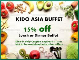New China Buffet Coupons by Kido Asia Buffet Kido Asia Buffet