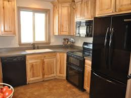 pictures of kitchens with black appliances kitchen table awesome black kitchen appliances maple kitchen