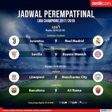 detiksport jadwal sepakbola indonesia liga chions pekan ini