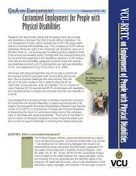 factsheet rrtc on employment with physical disabilities