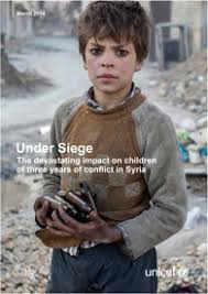 unicef siege siege the devastating impact on children of three years of