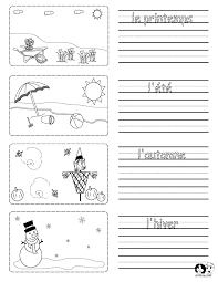 spring printouts french french for kids www chillola com