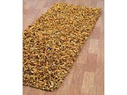 Plush Runner Rugs Leather Rugs U0026 Leather Area Rugs For Sale Luxedecor