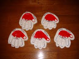 2 handprint ornaments nasagreen