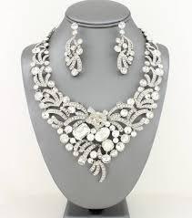 rhinestone necklace sets images Rhinestone necklace set angie davis jpg