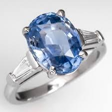 light blue sapphire ring large light blue sapphire cocktail ring wedding pinterest