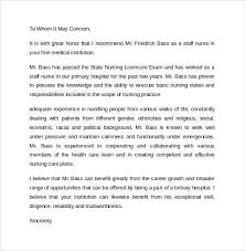 Example Nurse Cover Letter Free by Nicu Nurse Cover Letternursing Recommendation Letter Sample