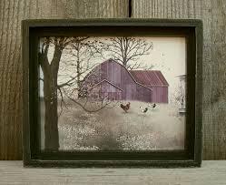 billy jacobs mini rustic framed picture shelf sitter primitive