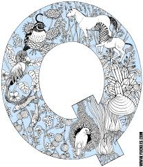 Letter Q Coloring Page By Yuckles Coloring Pages Q
