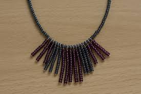 make beads necklace images Seed bead fringe necklace how to bead a beaded tassel necklace jpg