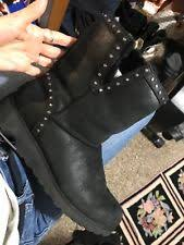 womens size 12 leather boots ugg australia s ankle boots us size 12 ebay