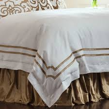 lili alessandra soho white linen with straw velvet applique