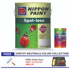 nippon paint spotless 5l earthy u0026 neutrals color collection