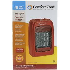 Heater For Small Bedroom Comfort Zone Ceramic Heater Walmart Com