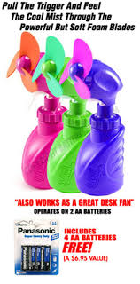 held battery operated fans water misting fan battery powered and operated