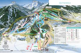 Squaw Trail Map Aspen Buttermilk Skil Trail Map Free Download