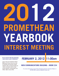 year 11 yearbook promethean yearbook interest meeting state