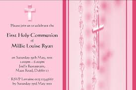 communion invitations for girl personalised communion invitations girl