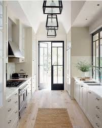 what is the best lighting for a galley kitchen 9 space enhancing ideas for your galley kitchen remodel