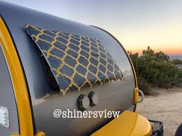 Awnings For Trailers Tb Trailer Window Awning 3 Windows You Choose Fabric
