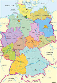 map of regions of germany www mappi net maps of countries germany
