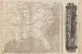 Map Of Usa In 1861 civil war maps maps from illustrated newspapers
