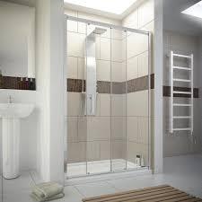sliding shower door bathroom hunter